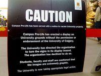 U of c campus pro-life