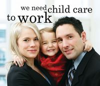 Child care and work