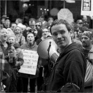 Grant at occupy calgary